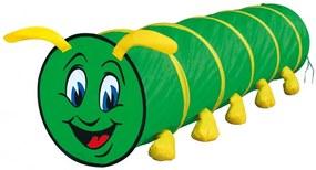 Baby Nora Speeltunnel Caterpillar Junior 180 X 48 Cm Polyester