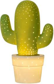 Lucide tafellamp Cactus - groen - Ø20 cm - Leen Bakker