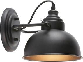 Wandlamp Indi Zwart