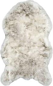 Vloerkleed Husky - crème/grijs - 60x100 cm - Leen Bakker