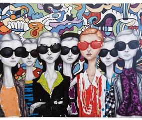 Kare Design Sunglasses Olieverf Schilderij