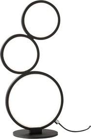 Trio Tafellamp Rondo - Metaal - Zwart Mat
