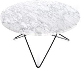 OX Denmarq O Table salontafel zwart onderstel 80