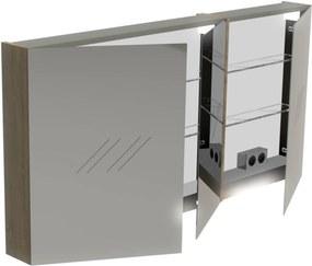 Basic Spiegelkast 70x140x13,5 cm Cape Elm