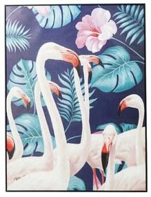 Kare Design Flamingo Road Flamingo Schilderij Met Zwarte Lijst