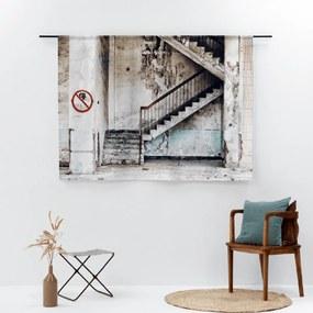 Urban Cotton Concrete Stairs Wandkleed Small