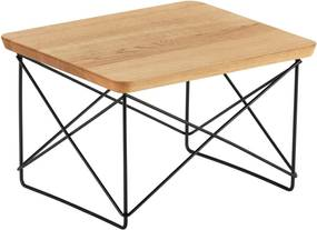 Vitra LTR Wood salontafel 39x34 Black naturel eiken
