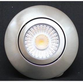 Njoy downlight inbouwspots Round IP44 set 3 stuks 6W dimbaar aluminium geborsteld SD-2024-03