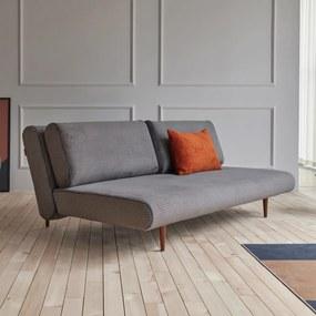Innovation Living Unfurl Lounger Moderne Slaapbank Ribstof Grijs