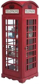 Kare Design London Telephone Telefooncel Vitrine - 53x51x140cm.