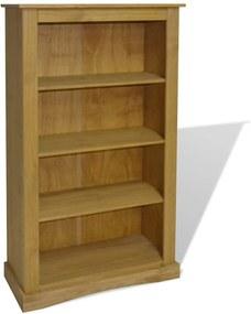 Boekenkast grenenhout met 4 planken Corona-stijl 81x29x150 cm