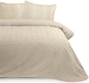 Sprei beige Miriam Cream, 180 cm bij 270 cm