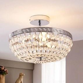 Fonkelende kristallen plafondlamp Mondrian - lampen-24