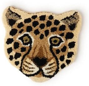 Doing Goods Looney Leopard Head voetenkleed 32 x 34 cm