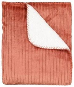 Kleed 130x150 Sherpa Rib Terra