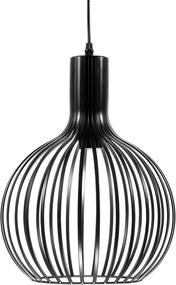 Hanglamp mat zwart SEGURA