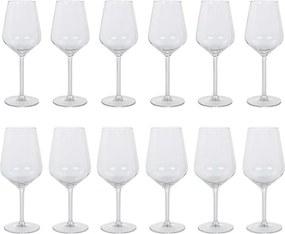 Royal Leerdam Rosalyn witte en rode wijnglas 50 cl 12-delig
