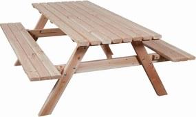 Douglas picknicktafel 70x150x177 cm met opklapbare zitting