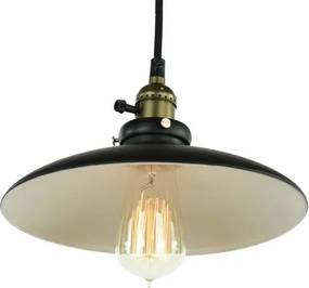 Castello Vintage Hanglamp Zwart Brons