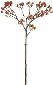 Bloemen besjes Rood - Geel