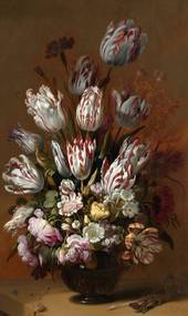 Wandkraft | Wanddecoratie Dutch Masters breedte 70 cm x hoogte 118 cm multicolour decoratieve wandobjecten dibond decoratie | NADUVI outlet