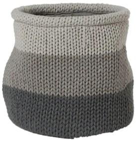 Sealskin Knitted Opbergmand Acryl Grijs 361971412