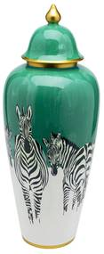 Kare Design Zebras Zebra Vaas Groen