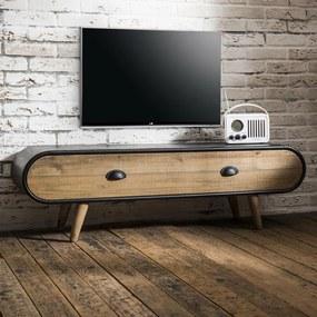 TV Meubel Trunk 1 Lade - 120x35x36.5cm.