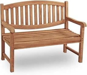 Ascot 4-zits tuinbank Teak Buitengewoon de Boet