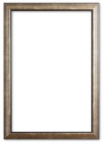 Klassieke Lijst 60x60 cm Zilver - Victoria