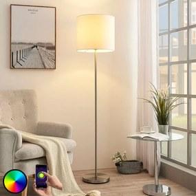 Smart LED vloerlamp Everly, app, RGB - lampen-24