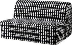 IKEA LYCKSELE MURBO 2-zits slaapbank Ebbarp zwart/wit - lKEA