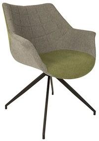 Zuiver Doulton Gestoffeerde Design Kuipstoel Groen