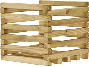 Plantenbak verhoogd 40x40x35 cm geïmpregneerd grenenhout