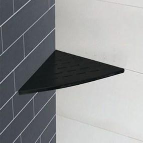 Planchet Hoek InWall Wiesbaden Mat Zwart 29x29cm