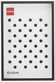 Fotolijst - Metaal - Zwart - Dunne Rand 10 X 15