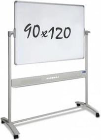 Whiteboard Verrijdbaar - Dubbelzijdig - Magnetisch - 90 x 120 cm