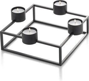Waxinelichthouder - Design - Industrieel - Theelichthouder - Decoratieve Accessoires - Sfeerverlichting binnen - RVS InterieurMaatwerk