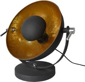 Nice Industrieel Design Tafellamp Goud Zwart