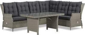 Garden Collections New Castle dining loungeset 5-delig - Tuinmeubelshop