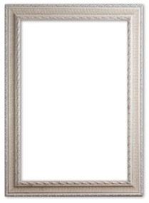 Barok Lijst 70x100 cm Zilver - Dakota