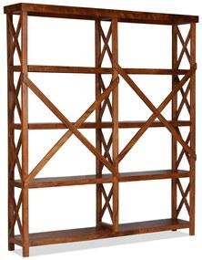 Medina Boekenkast 160x30x180 cm acaciahout met sheesham afwerking