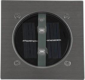 LED Solar Grondspot Tuinverlichting, Schemersensor, Waterdicht IP44, Warm Wit