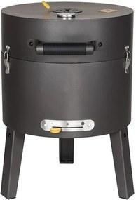 Tonello luxe houtskoolbarbecue