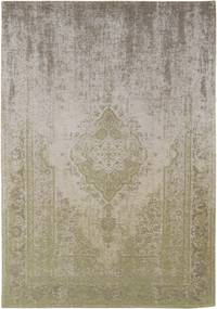 Louis de Poortere | Vloerkleed Pear Cream 8636 breedte 60 cm x lengte 90 cm groen vloerkleden 100% katoen vloerkleden & | NADUVI outlet