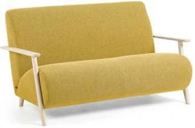 Kave Home Meghan sofa mustard/naturel