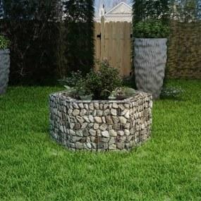 Gabion plantenbak verhoogd zeshoekig 100x90x50 cm