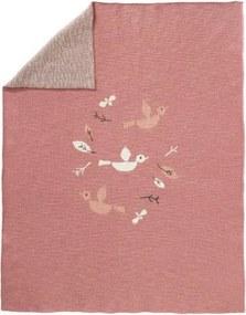 Gebreide deken Birds