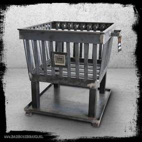 Hercules RAW - vuurkorf - - 29 KG - Staal - 100% Made in Jail