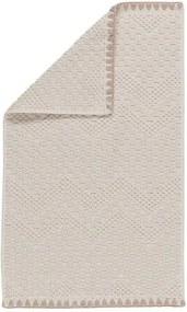 Sealskin Brilliance gastendoek 50x30x0.4cm rechthoek 100% Katoen Ivoor 16361346416